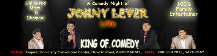 JOHNY LEVER Live Show in Ahmedabad