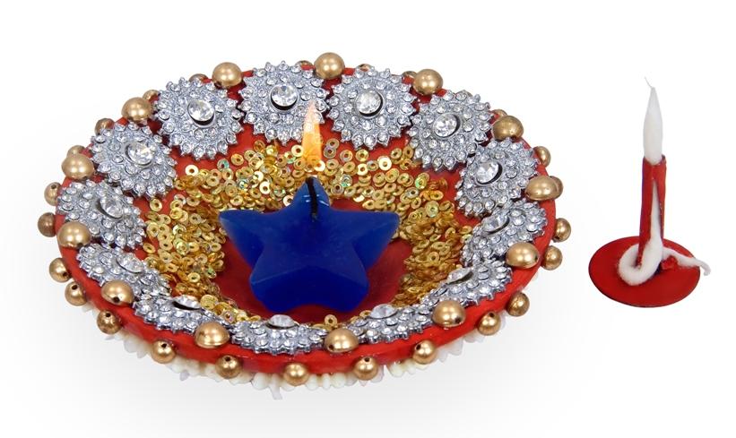 Amrut metals rajkot for Aarti dish decoration