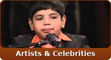 Artists & Celebrities