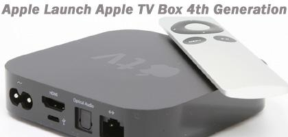Apple Launched Apple TV Box 4th Generation 2015 in India