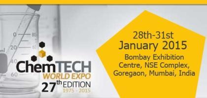 Chemtech World Expo 2015 Mumbai-27th International Exhibition and