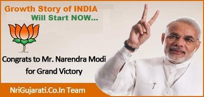 Congratulation to Mr.Narendra Modi for Prime Minister of India from