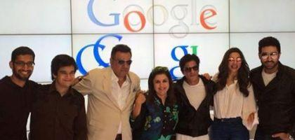 google office in usa inside happy new year movie team at google head quarter bollywood stars in slam tour usa first ever