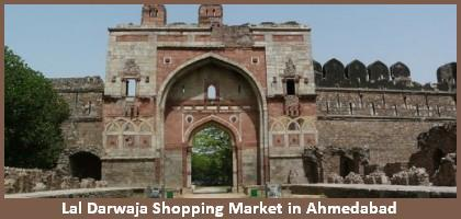 Lal Darwaja Shopping Market In Ahmedabad City Lal