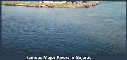 List Of Main Famous Rivers In Gujarat Major Important River - List of major rivers
