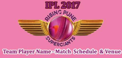 Rising Pune Supergiants(RPS) IPL 2017 Cricket Team Players Name ...