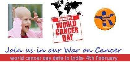world cancer day date in india when is world cancer day celebrated