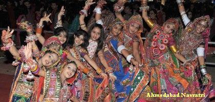 Navratri Garba in Ahmedabad 2015 - Navratri Festival Celebration ...