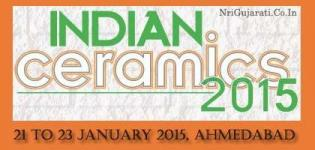10th Indian Ceramics Show 2015 in Ahmedabad Gujarat