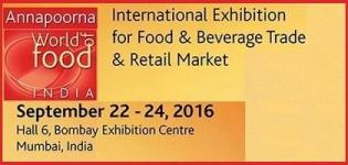 11th Annapoorna World of food India 2016 Mumbai - Exhibition of Food and Beverage Industry