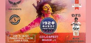 1920 Music Festival Ahmedabad - 2019 Holi Celebration at Vastrapur Amphitheater