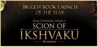 1st of Ram Chandra Series - Scion of Ikshvaku Book Launched by Amish Tripathi on 22nd June 2015