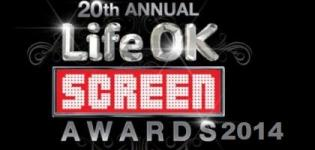 20th Annual Life Ok Star Screen Awards 2014 in India