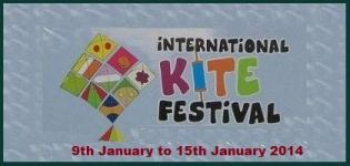 27th International Kite Flying Festival 2014 in Ahmedabad