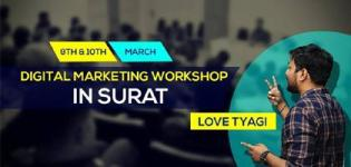 2 Days Advance Digital Marketing Workshop in Surat 100 Percent Practical
