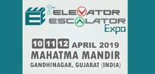 2nd Elevator Escalator Expo 2019 in Gandhinagar at Mahatma Mandir