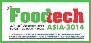 2nd Food Tech Asia 2014 Surat - Largest Food Industry Exhibition in Gujarat India