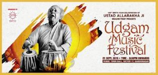 2nd Udgam Music Festival 2019 in Gandhinagar on 21st September