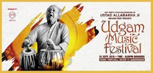 2nd Udgam Music Festival 2019 in Gandhinagar on 21st September