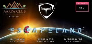 31st December 2016 Party at Aarya Club Rajkot with Escape Land Events