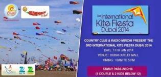 3rd International Kite Festival in Dubai 2014
