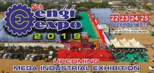 5th Engiexpo 2019 in Rajkot - Mega Industrial Exhibition from 22nd to 25th December
