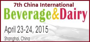7th China International Beverage & Dairy Innovation Summit in China on April 2015
