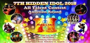 7th Hidden Idol 2018 All Talent Contest for all Talented People in Vadodara