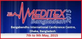 7th Meditex Bangladesh 2015 - International Expo on Medical Equipments
