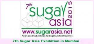 7th Sugar Asia Conference and Exhibition 2015 in Mumbai on 22-23 May 2015