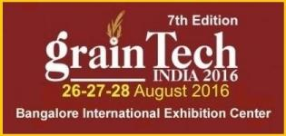 7th GrainTech India 2016 in Bangalore - India�s Largest Grain Milling Industry Event