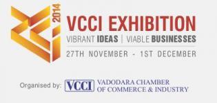 9th Mega Industrial Exhibition Vibrant VCCI 2014 in Vadodara Gujarat