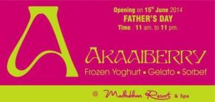 AAKAAIBERRY Opening on 15th June 2014 Father's Day at Madhuban Resort & Spa Anand