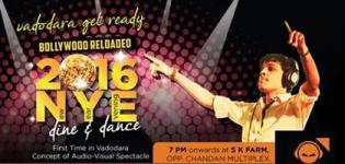 AJ The DJ 2016 NYE Dine and Dance Party at S K Farm in Vadodara