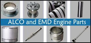 ALCO and EMD Engine - Aftermarket Locomotive Parts Manufacturer