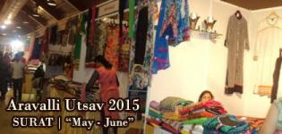 ARAVALLI UTSAV 2015 in Surat at SMC Ground - Handloom and Handicraft Exhibition Gujarat