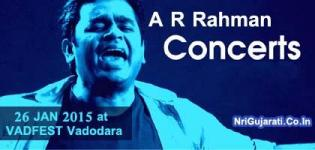 A R Rahman Live In Concert 2015 at Vadodara India on 26 January - VADFEST 2015