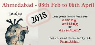 Acting Writing and Direction Workshop 2018 in Ahmedabad Date and Venue Details