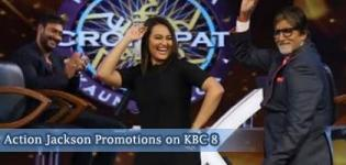 Action Jackson Promotions on KBC 8 - Latest Promotion Pics from TV Reality Shows