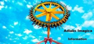 Adlabs Imagica Information - Adlabs Imagica Theme Park - Rides - Pricing Information