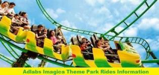 Adlabs Imagica Theme Park Rides Information - List - Names - Details