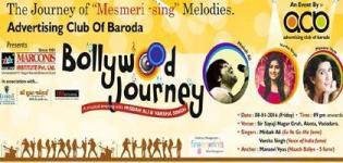 Advertising Club of Baroda Presents Bollywood Journey at Sir Sayajirao Nagar Gruh