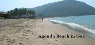 Agonda Beach in South Goa India - Information - Attraction - Details - Photos