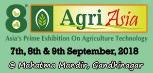 Agri Asia 2018 Agricultural Exhibition and Conference in Gandhinagar at Mahatma Mandir