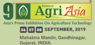 Agri Asia 2019 Agricultural Exhibition and Conference in Gandhinagar at Mahatma Mandir