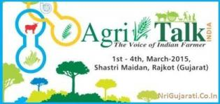 Agritalk Krishi Mela in RAJKOT Gujarat on 1st to 4th March 2015 at Shastri Maidan
