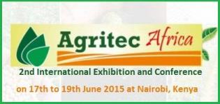 Agritec Africa 2015 - 2nd International Exhibition and Conference at Nairobi Kenya