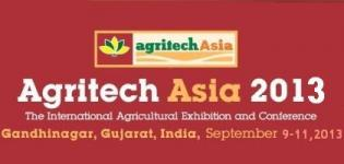 Agritech Asia 2013 - The International Agriculture Exhibition & Conference India
