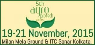 Agro Protech Kolkata 2015 - Fair for Agriculture and Horticulture on 19 to 21 November