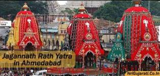 Ahmedabad Jamalpur Jagannath Temple Decoration Photo and Rath Yatra Images